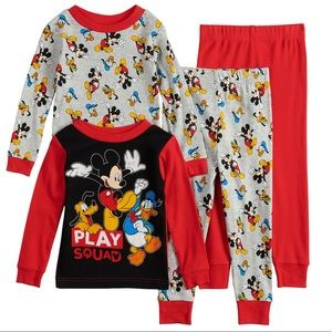 •Disney's Mickey Mouse 2 Boy Cotton Sleepwear Sets